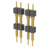Rectangular Connectors - Headers, Male Pins -- BBS-108-G-G-ND -Image