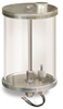 Reservoir with Filter and Low Level Safety Switch, 1/2 gal Pyrex Reservoir, 5/8
