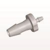 Straight Reducer Connector, Barbed, Natural -- HSR52 -Image