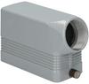 Rectangular connector hood ILME MHO-16L32