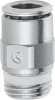 Brass Push-in Fittings - BSP/Metric Size -- S6510 4-1/4