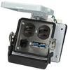 Panel interface connector Mencom DP-USB-RJ45-32 - Image