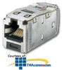 Panduit® Mini-Com TX5e Shielded Jack Module (Pkg of.. -- CJS5E88TG