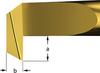 Carbide Insert Boring Bars for Back Turning -- Style B