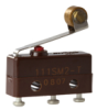 MICRO SWITCH SM Series Subminiature Basic Switch, Single Pole Double Throw (SPDT), 250 Vac, 5 A, Roller Lever Actuator, Solder Termination -- 111SM2-T -- View Larger Image