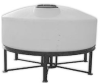 800 Gallon 15 Degree Cone Bottom Tank -- A-CB0800-86
