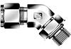 Dk-Lok® 45° SAE Male Elbow -- DLBS 4-4U - Image