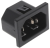 Power Entry Connectors - Inlets, Outlets, Modules -- 486-6160-ND -Image