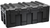 Pelican AL4824-1404 Single Lid Trunk Shipping Case with Foam and Casters - Black -- PEL-AL4824-1404RPFC032 -Image