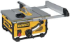 DEWALT 10 In. Compact Job Site Table Saw -- Model# DW745