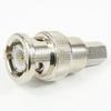 SMC Male (plug) to BNC Male (plug) Adapter, 1.35 VSWR -- SM3684 - Image