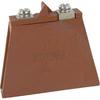 Varistor, Circuit Protection;575VAC/730VDC;1420V;70000A;Metal Oxide;4500pF -- 70184589 - Image