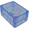 ENCLOSURE,TRANSPARENT BLUE POLYCARBONATE,NEMA,IEC52,IP65,6.73LX4.76WX3.15HIN -- 70147757