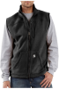 Men's Textured-Polyester Fleece Vest -- CAR-V28