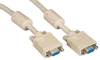 VGA Video Cable with Ferrite Core, Beige, Female/Female, 5-ft. (1.5-m) -- EVNPS06-0005-FF