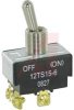 Switch, Toggle; 20 A @ 125 VAC, 10 A @ 277 VAC; DPST; Screw terminals -- 70118879 - Image