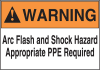 Arc Flash Protection Labels -- GO-40400-07