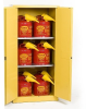 Eagle 60 gal Yellow Hazardous Material Storage Cabinet - 048441-00380 -- 048441-00380
