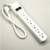 1.6ft 6-Outlet 15A 14AWG Power Strip -- 2150-SF-51 - Image