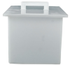 Tamco Polypropylene High Temperature Rectangular Tanks -- 9092