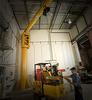 Free Standing 1/2 Ton Jib Crane -- 101 Series - 20' Span -- View Larger Image