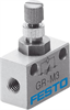 GR-M3 One-way flow control valve -- 15899