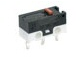 MICRO SWITCH ZX Series Subminiature Basic Switch, SPDT, 125 Vac, 3 A, Pin Plunger Actuator, PCB Snap-in Termination -- ZX40E30A01 -Image