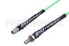 SMA Male to SMA Female Bulkhead Low Loss Cable 48 Inch Length Using PE-P160LL Coax -- PE3C5242-48 -Image