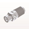 Straight Connector, Barbed, White -- N2S230 -Image