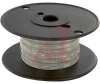 Wire, Braid; 36 AWG; Tinned Copper; 1/4in.; 0.030 in.; 168; 4200 CMA; 32 A -- 70195055