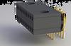 Micro DRP Series Strip Connectors - Dual Row Horizontal Thru-Hole - Type H2 - Image