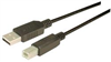 Economy USB Cable, Type A - B, 5 Meters -- CGU2AB-5M -Image