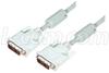 DVI-I Single Link DVI Cable Male / Male w/ Ferrites, 15.0 ft -- CTLDVI-ISL-MM-15