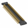 Rectangular Connectors - Arrays, Edge Type, Mezzanine (Board to Board) -- AXG8400J4-ND -Image
