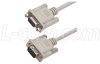 Premium Molded D-Sub Cable, DB9 Male / Female, 10 ft -- CS2N9MF-10