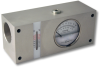 Inline Flow Indicator With Temperature Sensor -- HC-FI1500-080