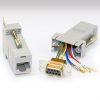 RJ45/DB9 Female Adapter -- 10-01043