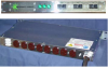 """Three Phase 19"""" Rack Mount  Power Distribution Unit -- 51133-00005-030 -- View Larger Image"""