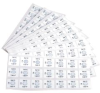 Non-Reversible Temperature Labels -- 21 Series