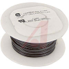 WIRE, HOOK UP, 24AWG, SOLID, SEMI RIGIDPVC, 300V, UL 1061 BLACK -- 70002765