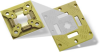 High-Temp (up to 250°C) RF Test Socket with Replaceable Contact Strips - Image
