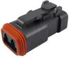 Rectangular Connectors, Heavy Duty - DT Series -- DT06-2S-EP06