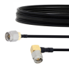 SMA Male to RA SMA Male Cable FM-SR141TBJ Coax in 24 Inch -- FMCA2125-24 -Image