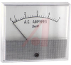 Ammeter, Electromechanical AC; 5 A; + 5%; 3.5 in.; Polystyrene; 750 Series -- 70136678