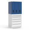 R2V Vertical Drawer Cabinet -- RL-5HDE30002NA -- View Larger Image