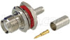 RP-TNC Bulkhead Jack for RG58, 195-Series Cable -- ARTJ-3702 -Image