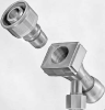 High Purity High Pressure Quick-Coupler -- Semicon SCF Type