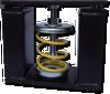 Spring Floor Mounted Non-Seismic Isolator -- M-Isolators -Image