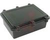 Enclosure; NEMA 4X; Aluminum; EMI/RFI Shielding; Black; 7.87L x5.91W x 2.95D -- 70147804