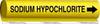 Pipemarker,Sodium Hypochlorite -- 14H977